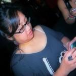 Maria texting